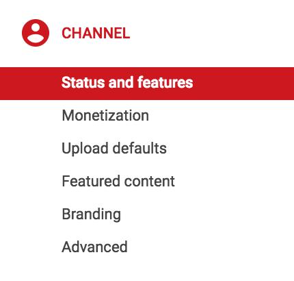 youtube verified