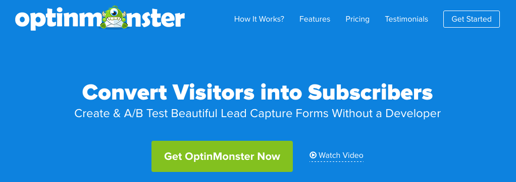best lead generator for WordPress