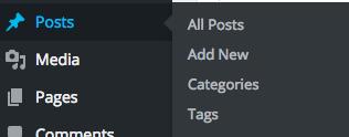 how to post on WordPress