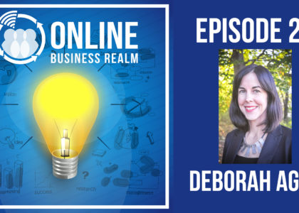 Online Business Realm Podcast Episode 23
