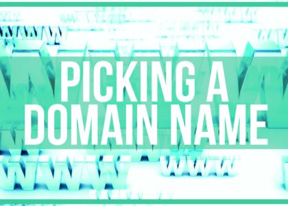 How to pick a Domain Name Thumb